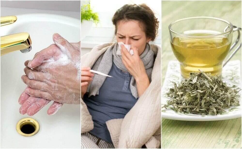 독감에 걸렸을 때 집에서 해야 할 일