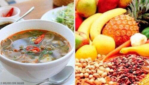 포만감 유지에 도움을 주는 식품