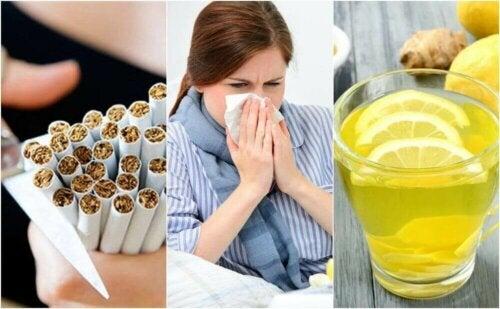 감기를 퇴치하는 10가지 단계