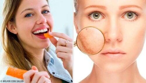 동안 피부를 위한 추천 식품 9가지
