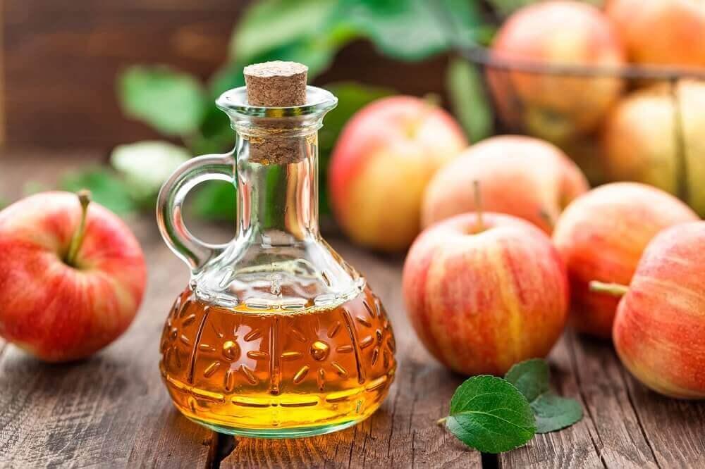 가스레인지 사과 식초