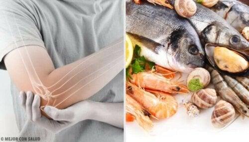 생선을 섭취하면 류머티즘 관절염 통증이 줄어들까