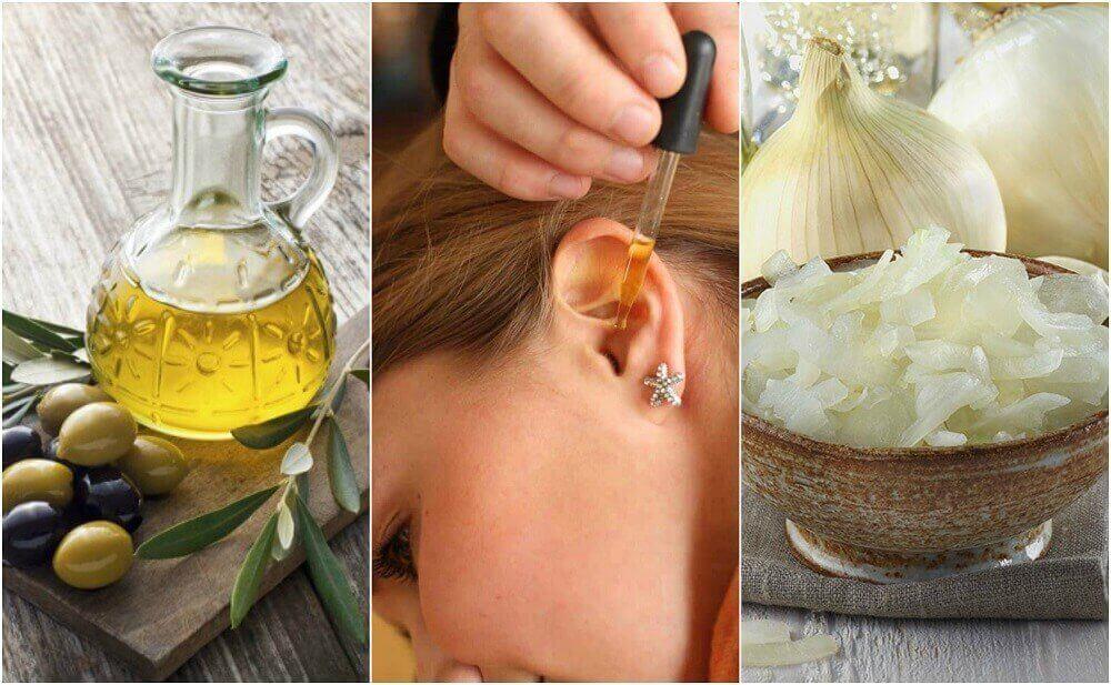 귀 통증을 치료하는 자연요법