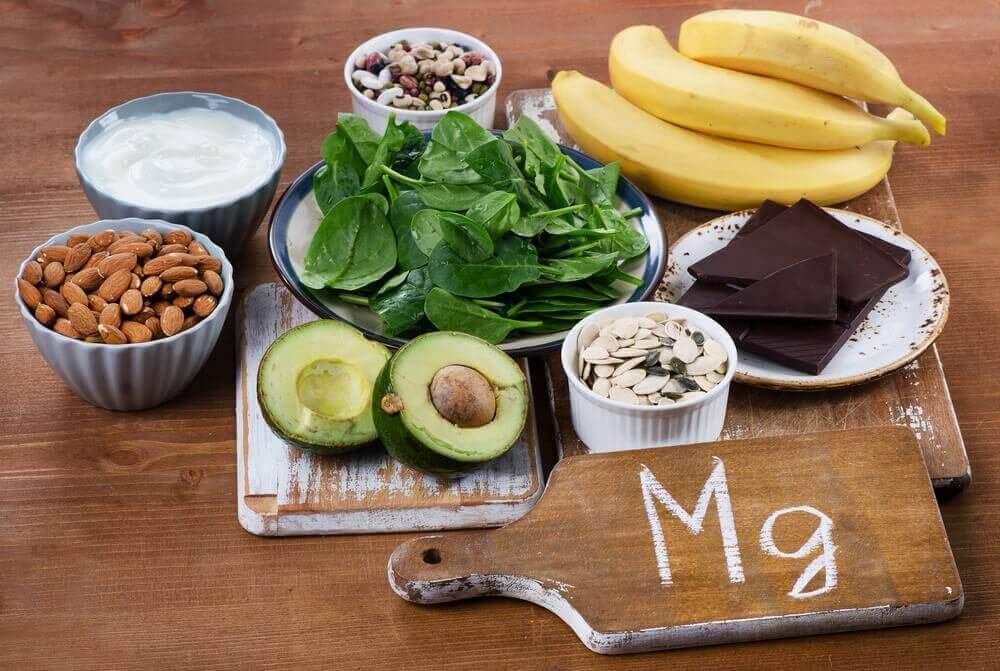 마그네슘이 함유된 식품