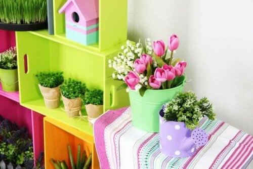 작은 정원을 꾸미는 4가지 방법