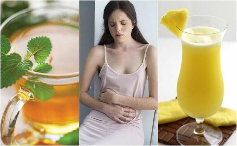 소화불량을 치료하는 5가지 천연 요법