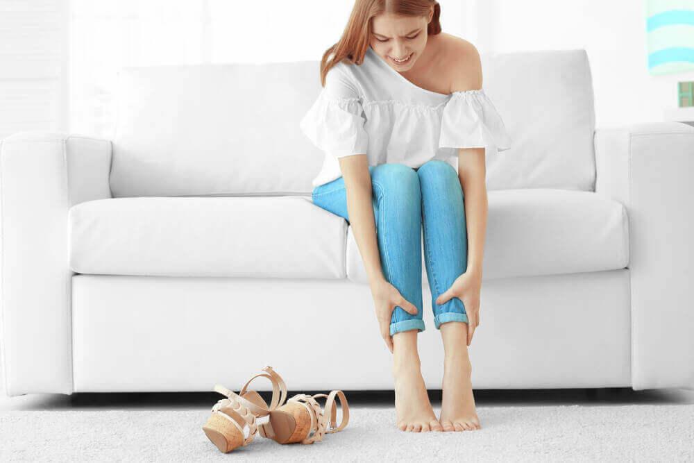다리 통증을 완화시키는 방법