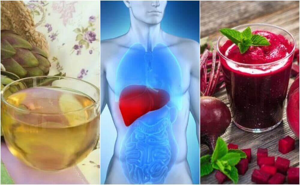 간 건강을 돌보는 5가지 천연 요법