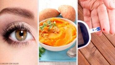 고구마의 치유 및 영양 특성 7가지