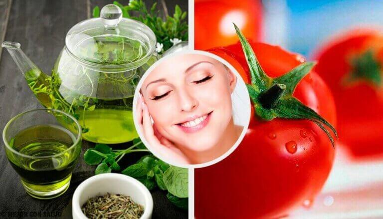 피부 건강에 좋은 식품 8가지