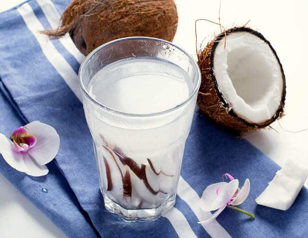 코코넛 워터의 이점