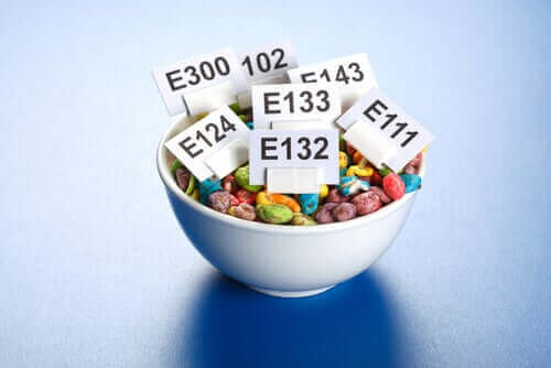 식품첨가물이 신체에 미치는 영향