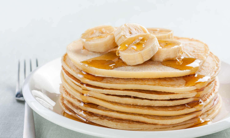 아침 식사 바나나