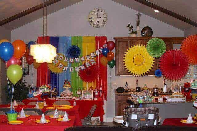 생일파티를 위한 4가지 데코레이션 스타일