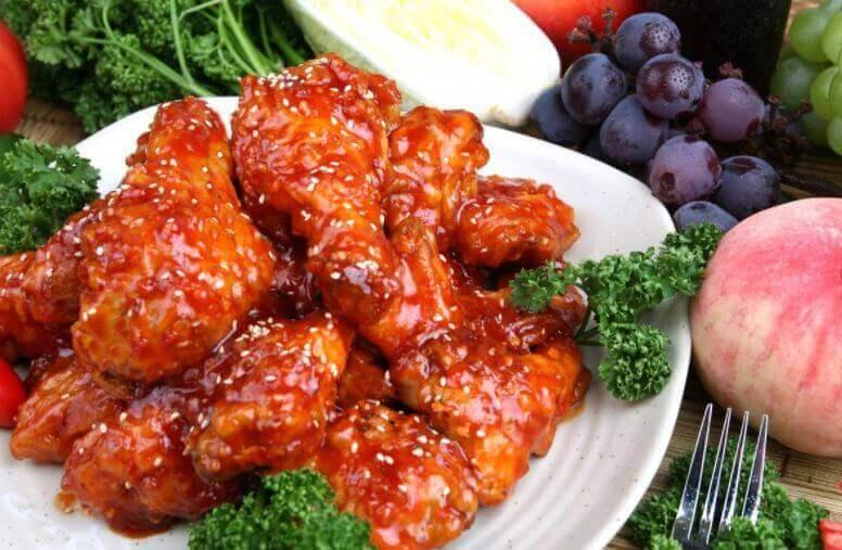 닭 날개 깐풍기