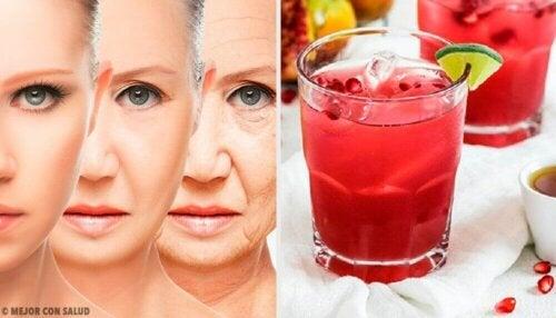 포도, 석류, 모링가: 항산화 성분이 풍부한 재료