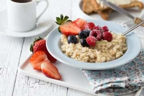 고 탄수화물 아침식사의 건강상 이점