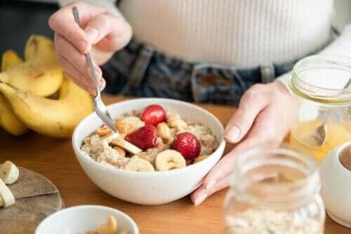 고탄수화물 아침 식사의 건강상 이점