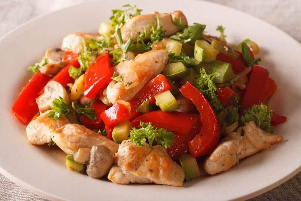 체중 감량을 위한 주간 식단