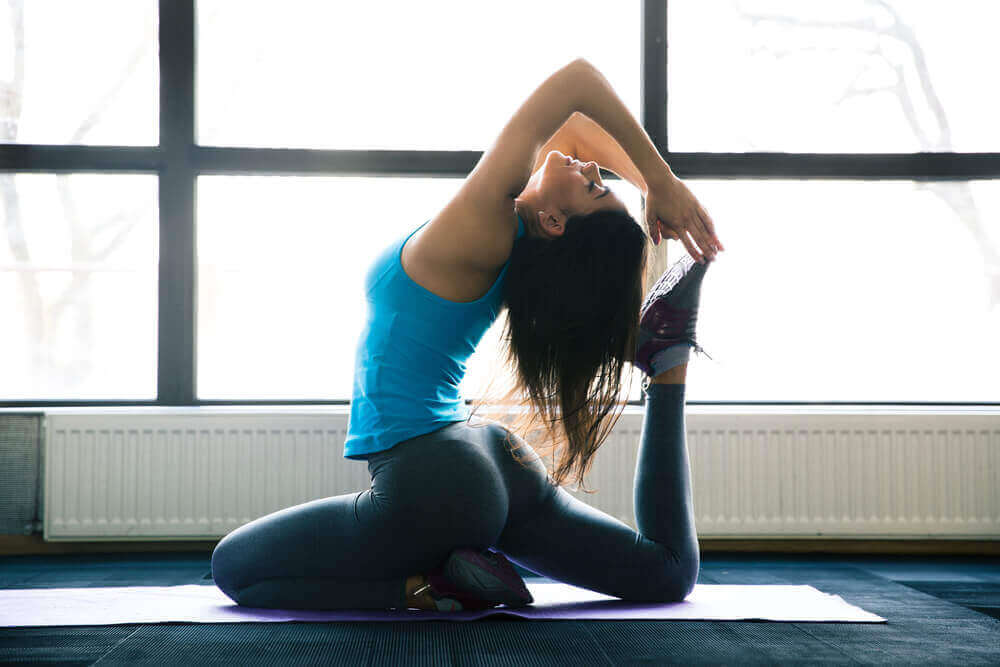 체중 감량을 위한 요가 자세 5가지