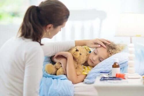 소아 두드러기를 치료하는 방법
