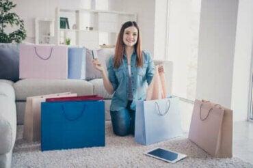 쇼핑 중독의 신호 4가지