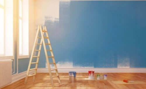 집을 페인트칠하는 5가지 기법