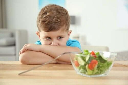 자폐아의 주요 섭식 장애