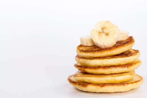 바나나 크레이프 탄수화물