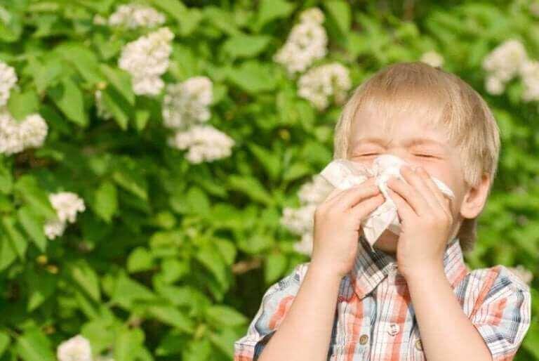 어린이에게 가장 흔한 9가지 알레르기