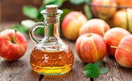 근육통을 위한 사과 식초