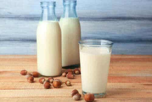 헤이즐넛 밀크의 특성