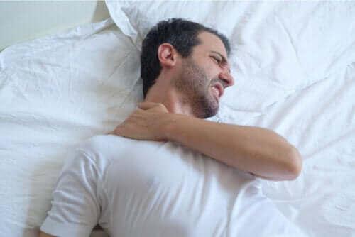 어깨 건염을 앓는 환자의 수면