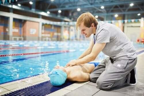 운동 중 급사를 예방하는 방법