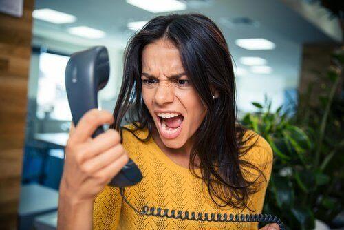 시간 도둑을 통화