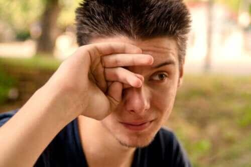 눈물흘림증의 원인