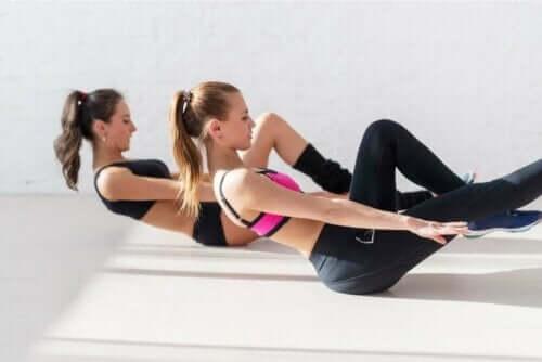 척추 측만증을 위한 운동