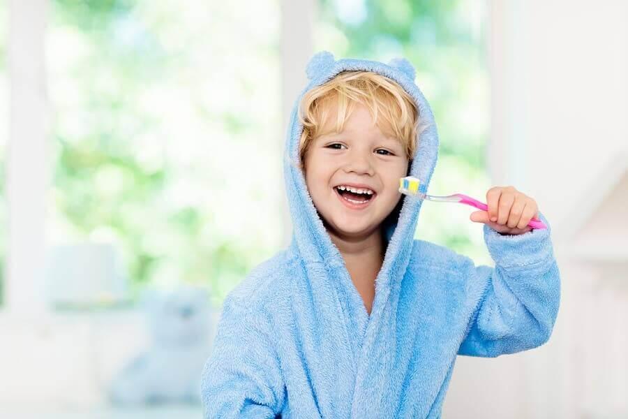 어린이의 구강 위생을 강화하는 방법