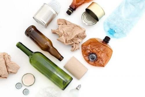 일상생활에서 재사용 가능한 8가지 재료