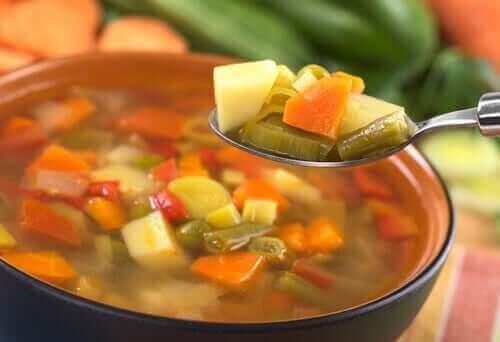 3. 병아리콩 채소 수프