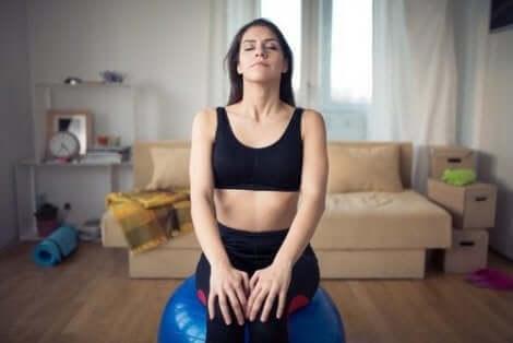 수면을 개선하기 위해 호흡 운동을 하는 방법
