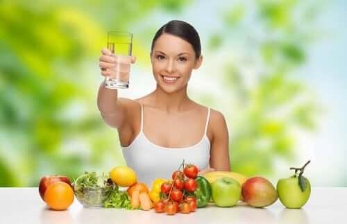 탈수증을 예방하는 식단
