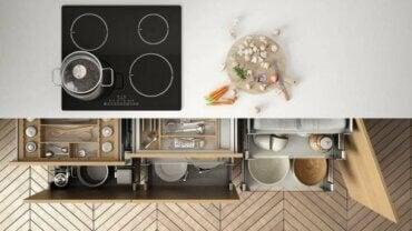 주방을 정리하는 아이디어