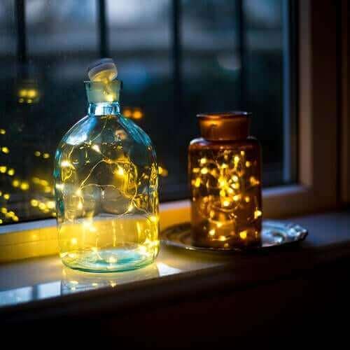 3. 병으로 만든 램프