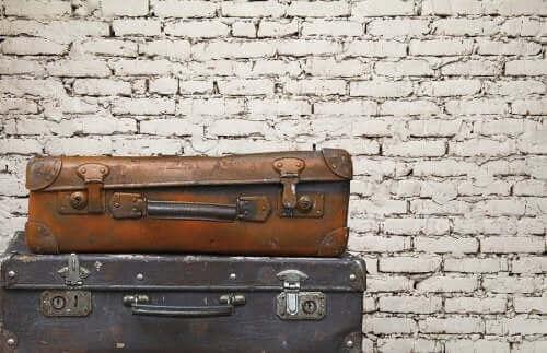 5. 낡은 여행 가방 재사용하기