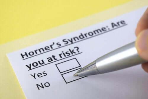 호너 증후군의 원인, 증상 및 치료