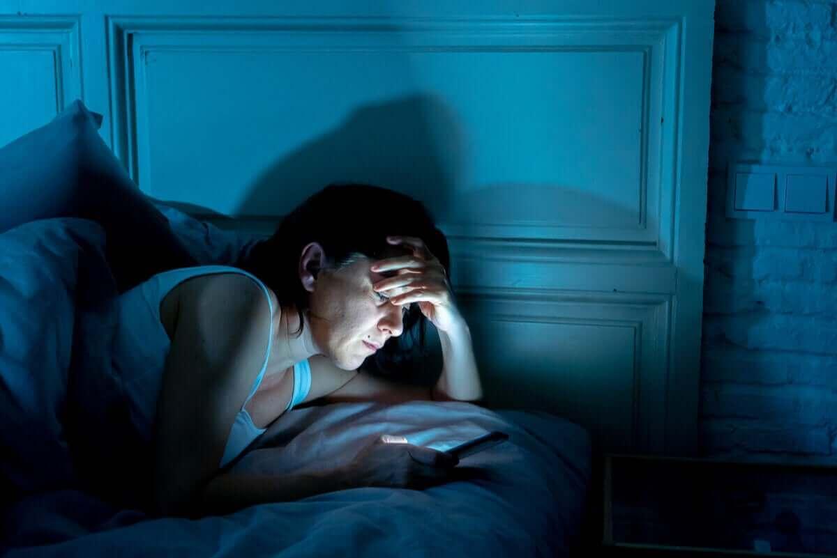 야간 불안의