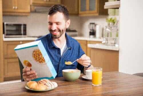 아침 식사용 시리얼은 건강에 좋을까, 나쁠까