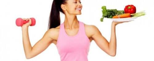 하체 지방을 식단 관리
