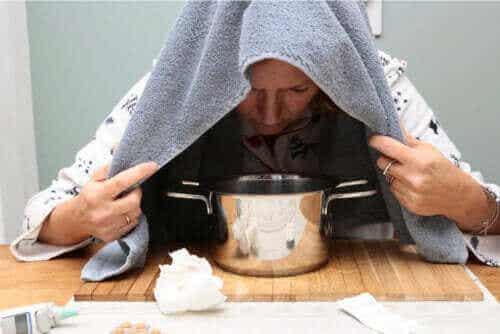 감기를 완화하는 오레가노 에센셜 오일